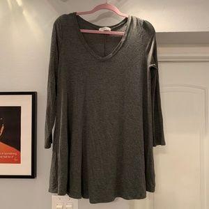 Million Bullpup Long-Sleeved T-Shirt Dress